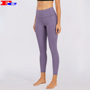 Custom Gym Leggings High Waist Athletic Leggings Women Stretchy Squat Proof Gym Tights