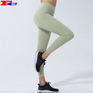 Custom Women Premium Leggings High-Waisted Peach Buttock Yoga Pants Fitness Tights