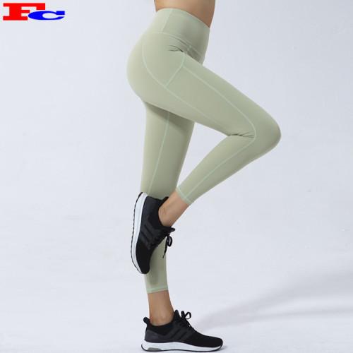 Custom Women Premium Leggings High-Waisted Peach Buttock Yoga Pants Fitness Tights