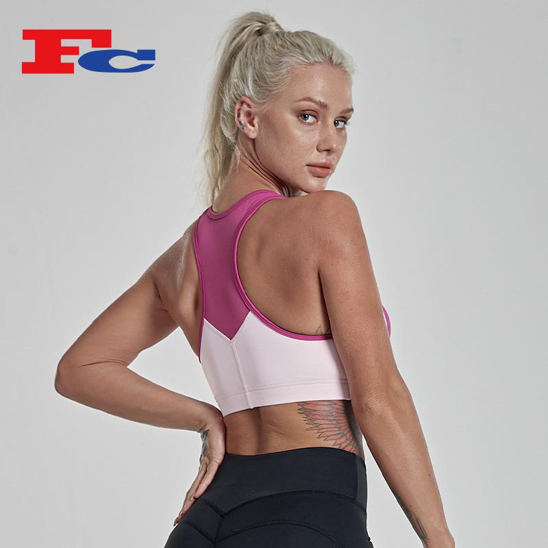Wholesale Latest Design Fashion Gym Sports Bra Tops--Custom Services