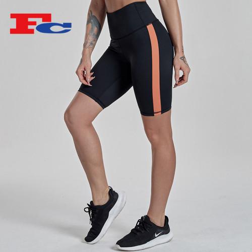 China Custom Activewear Manufacturers Bodybuilding Bulk Running  Sports Shorts For Women