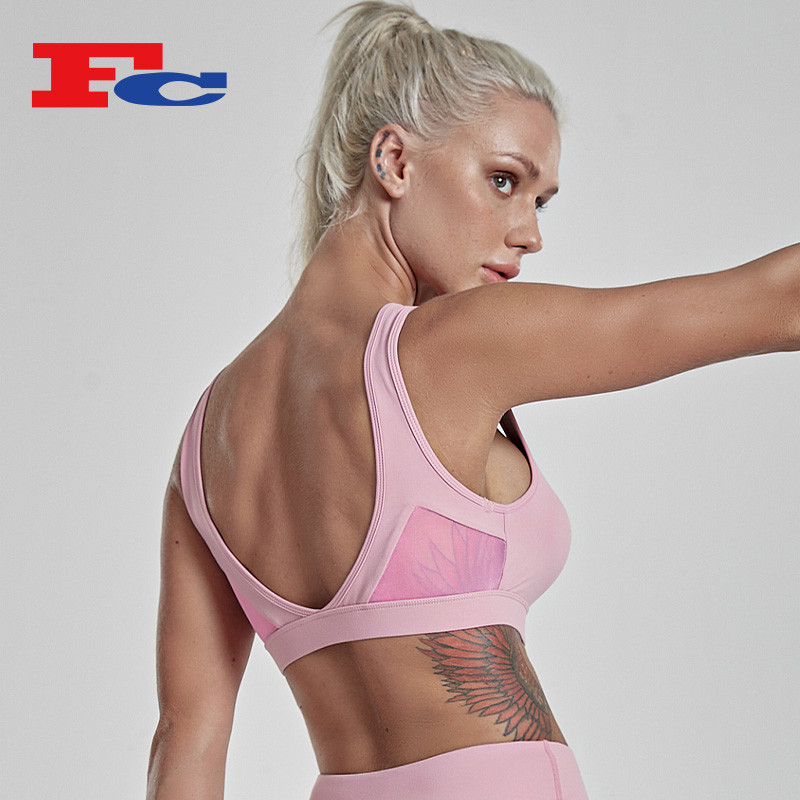 Private Label Sports Bras China Manufacturer Wholesale Custom Logo Services