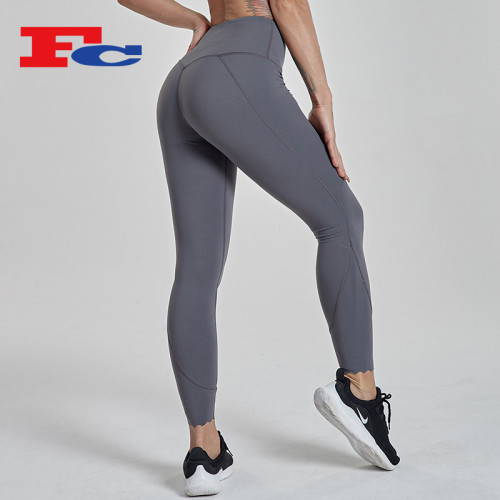China Gym Tights Women Manufacturer High Waisted Leggings Fitness Pants Body