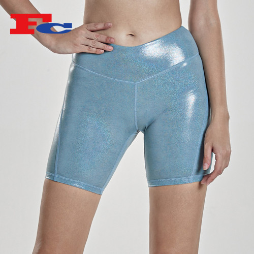 Wholesale Shorts Hot Stamping Reflective Shorts For Women -- Private Label Services