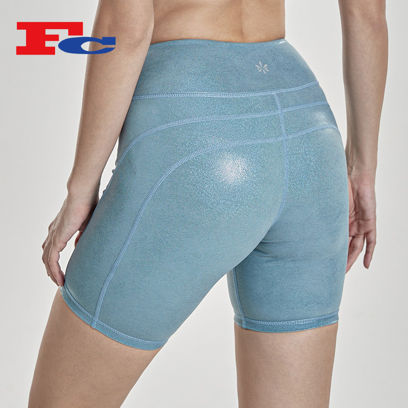 Wholesale Custom Private Label Fitness Biker Shorts Outfit Manufacturer