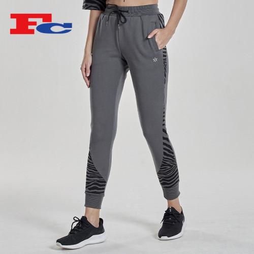 Wholesale Joggers Women's Wild Leopard Print Sweatpants Outfits