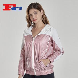 Workout Jacket Zip Up Fashion Jacket Manufacturers China
