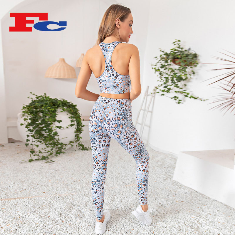 Chic Digital Printing Workout Clothes Wholesale China --Private Label Services