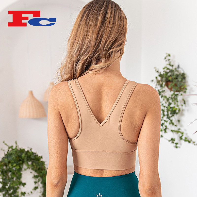 Wholesale Sports Bra Set V-Neck Yoga Clothing Wholesale Suppliers For Women