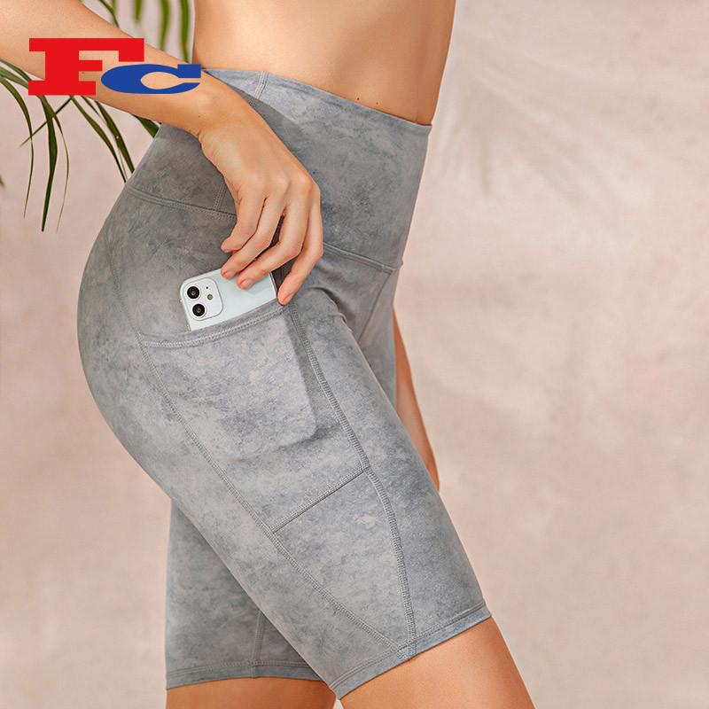 Wholesale Workout Clothes Cheap Fashion Print Sports Bra Set