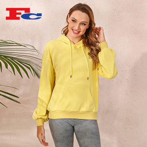 Wholesale Pullover Hoodies Simple Casual Hooded Sweater