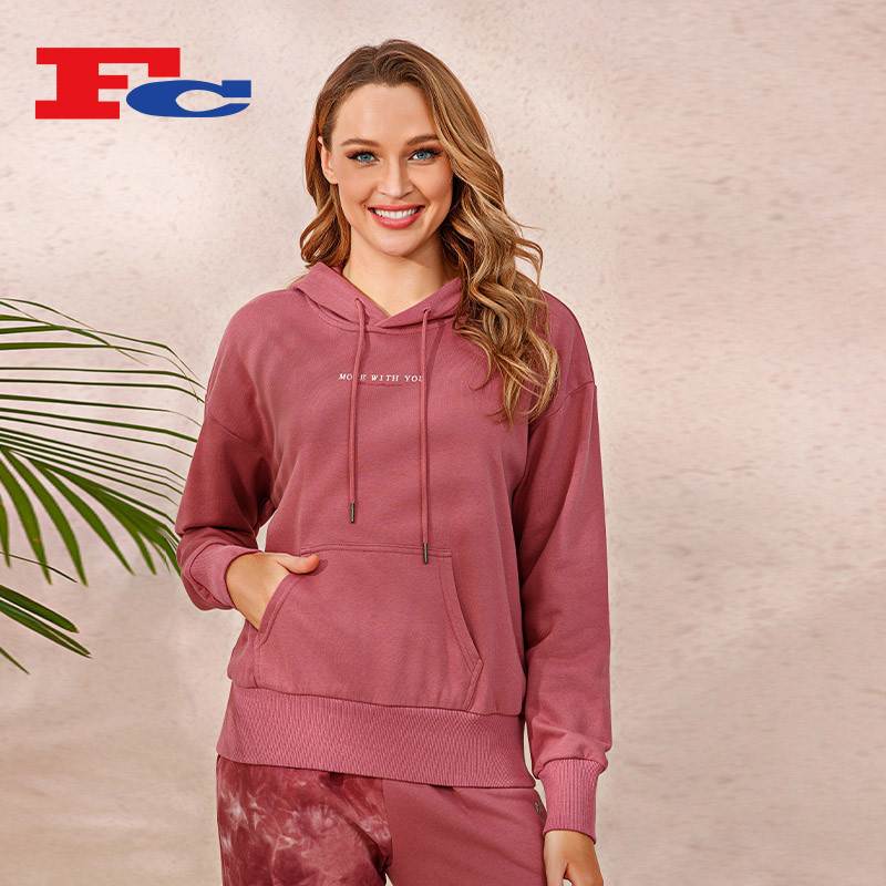 Wholesale Jogging Suits For Women Fall/Winter Loose Hooded Sets