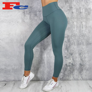 High Waist Workout Comfortable Custom Yoga Pants Gym Leggings For Women