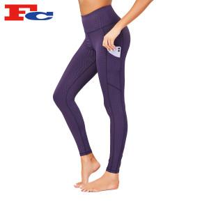 Workout Pants Ladies High Waist Tight Yoga Pants Distributor