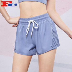 Wholesale Sports Shorts Bulk Women Casual Drawstring Loose Gym Shorts With Pocket