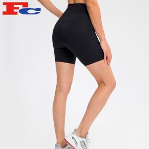 Fitness Shorts Womens Buttery-Soft Fabric Biker Shorts Manufacturer
