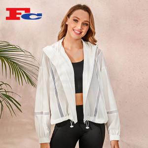 Wholesale Jacket Vendor Sunscreen Women's Short 2021 New Hooded