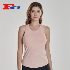 Custom Workout Shirts Womens Tank Top Bulk Sleeves Sports T-Shirts