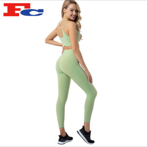 Quick-Drying Sports Two-Piece Yoga Wear Wholesale Manufacturer