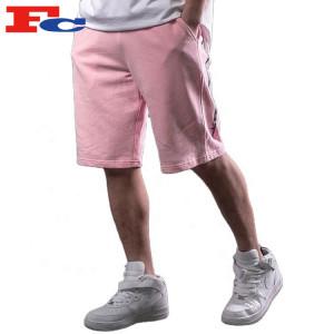 Fleece Jogger Shorts Wholesale Custom Men's Sports Shorts Fleece Colorful Sweat Shorts