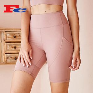 Bulk Spandex Shorts High Waist Hip Lift Biker Shorts