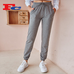 Sweatpants Wholesale Vendors Workout Drawstring Training Jogger Pants For Women