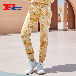 Custom Sweatpants With Pockets Tie-Dye Drawstring Design