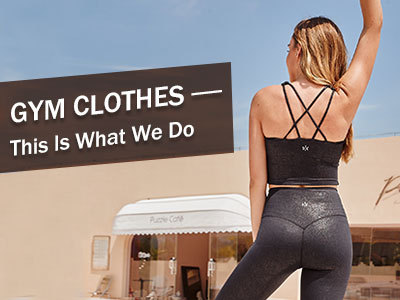 Gym Clothes-This Is What We Do