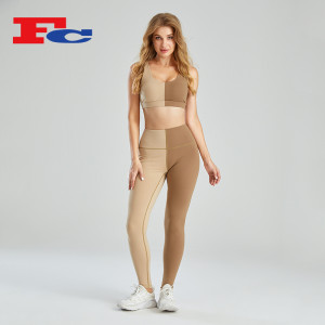 Wholesale Workout Sets Ice Cream Color Matching