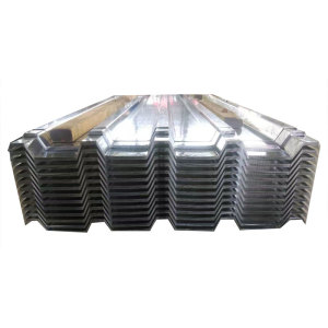 0.17MM Thick Galvanized Steel Corrugated Roofing Sheet