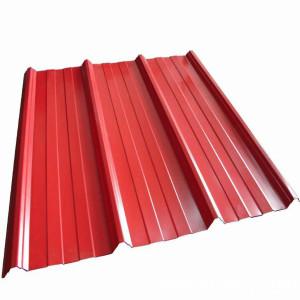 PPGI PPGL Color Coated Corrugated Roofing Sheet