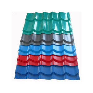 Glazed Color Coated Steel Roofing Sheet Tile