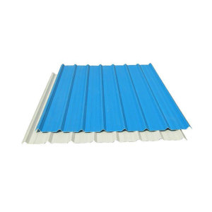 Trapezoidal Shape Color Coated Steel Roofing Sheet