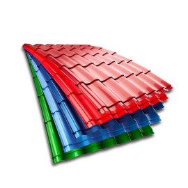 DX51D Z40 Color Coated Corrugated Roofing Sheet