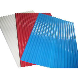 Ral9002 Color Coated Corrugated Steel Roofing Sheet