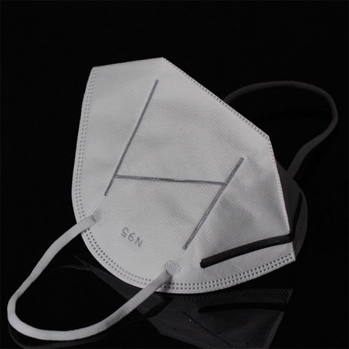 Dust Disposable Non Woven Face Mask With Valve Folding N95 Mouth Mask n95