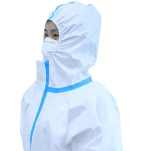 Cobabies Medical Protective Suit, Manufacturer Disposable Isolation Clothing/