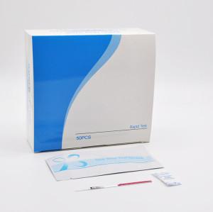 forensic lab saliva sample collection DNA fluorescence pcr test kit