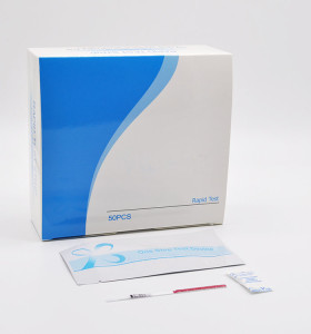 High sensitivity hepatitis c virus one step rapid test strip