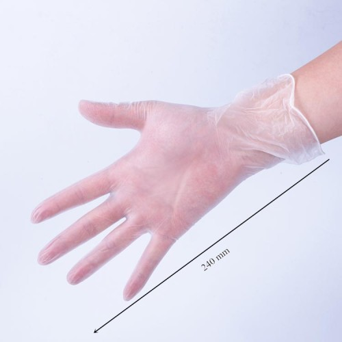 Hot Sale Disposable HDPE/LDPE Plastic Long Arm Gloves Target