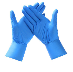 Good elastic gloves home daily use disposable 100pcs per box nitrile gloves