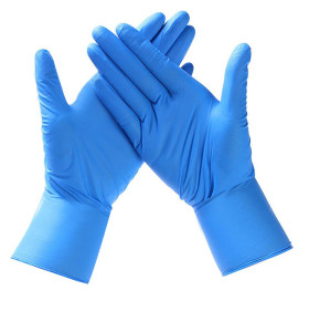 Large Clear Disposable Plastic Polythene PE Gloves Cleaning Prepare Food Decorating Powder Free Clear Examination Vinyl Gloves