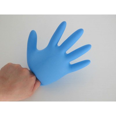200pcs/box Plastic Disposable Gloves HEPE Thick Civilian Anti Bacterial Disposable Hand Gloves Supplier