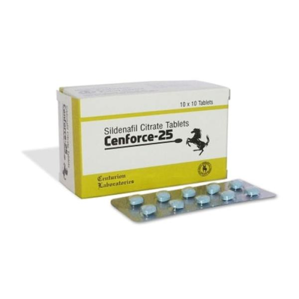 Viagra genérico Sildenafil Cenforce 25mg píldoras sexuales masculinas ED