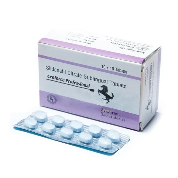 Verbesserung des männlichen Geschlechts Sildenafil Cenforce Professional 100 mg generische Viagra Sex Pillen