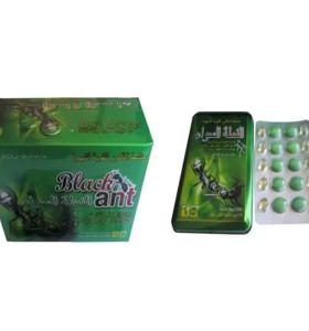 100% natürliche chinesische Kräuter schwarze Ameise König starke Ausdauer Verbesserung männliche Sex Pillen