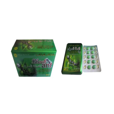 100% Natural Chinese Herbal Black Ant King Strong Stamina Enhancement Male Sex Pills