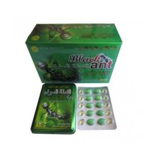 Píldoras sexuales masculinas 100% naturales a base de hierbas, hormiga negra, rey, fuerte mejora
