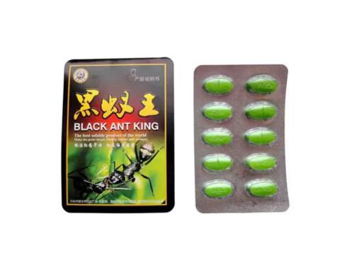 Pastillas de mejora del sexo masculino de la hormiga negra china de la hierba natural china para los hombres 3800mg por cápsula