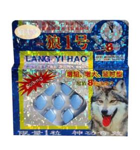 Chinesische natürliche Lang Yi Hao Kräuterverbesserungspillen für mehr härteres längeres Sexualleben